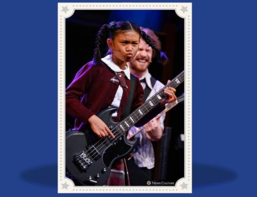 Mya part of the School of Rock Cast in Sydney